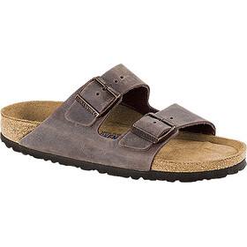 Birkenstock Arizona Sandals Oiled Leather Narrow, habana